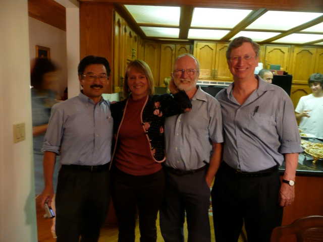 Makito Kobayashi, Ann Kyle, Norm Stacey and Murray Wiegand