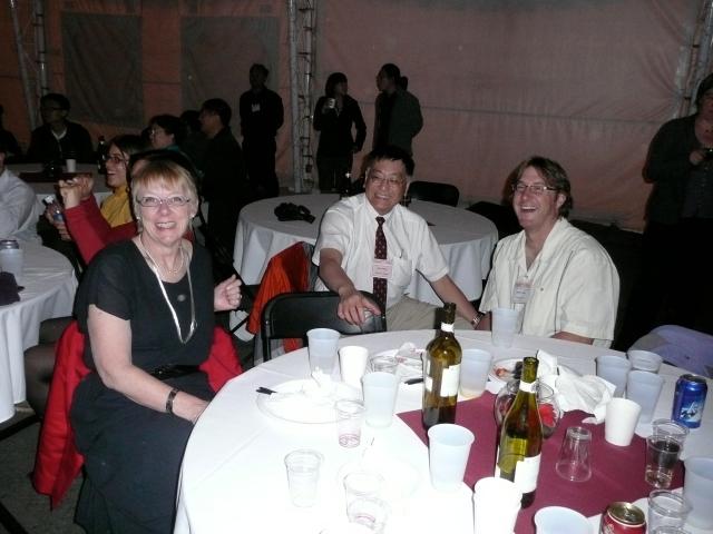 Leona Peter, Johan Chang and Matt Peter