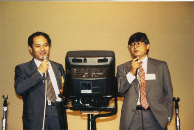 Yoshi and Kohei