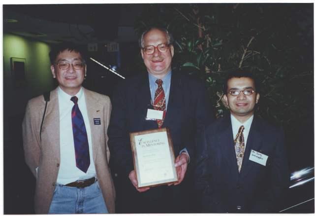 Suraj, Dick Peter and John Chang